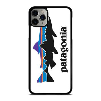 PATAGONIA FISHING BUILT LOGO iPhone Case Cover