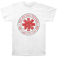 Red Hot Chili Peppers Men's  Vintage T-shirt White