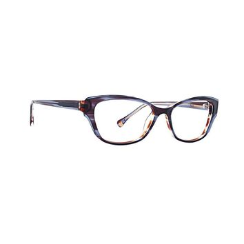 Trina Turk - Marni 51mm Blue Eyeglasses / Demo Lenses
