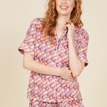 Around the World in Forty Winks Pajamas | Mod Retro Vintage Underwear | ModCloth.com