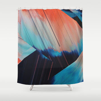 Folded Shower Curtain by DuckyB (Brandi)