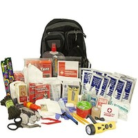Emergency Zone 840-2 Urban Survival Bug Out Bag Emergency Disaster Kit, 2 Person, Black