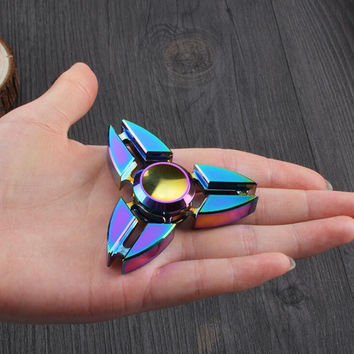 Aluminum Alloy Stress Fidget Spinner Toy