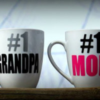 Classic personalized Number one Mom Coffee Mug, Number 1 Cousin Mug, #1 Mom, #1 Dad, #1 Grandma, #1 Uncle, #1 Aunt, any title, any color