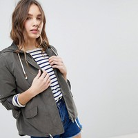 Only Lightweight Parka Jacket at asos.com
