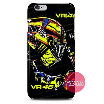 Valentino Rossi VR46 Rituali Artwork iPhone 6 6 Plus 5s 5c 4 3 iPod Case Cover Series