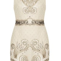 **EMBELLISHED DRESS BY TFNC