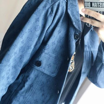 Louis Vuitton LV Monogram Denim Jacket