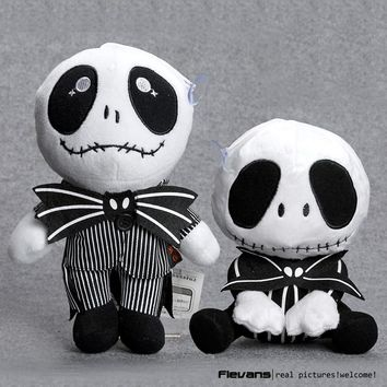 The Nightmare Before Christmas Jack Plush Toys Soft Stuffed Dolls 2 Styles
