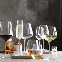 Williams Sonoma Estate Stemless Red Wine Glasses, Buy 6-Get 8 Set