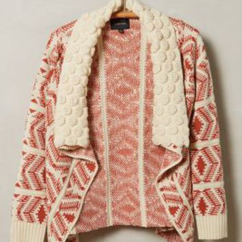 Maple Trail Cardigan by La Fee Verte Red Motif