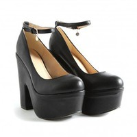 Missguided - Anulka Platform Mary Jane Heels