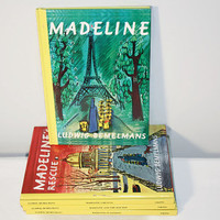 Madeline Book Set by Ludwig Bemelmans, Classic Children's Stories
