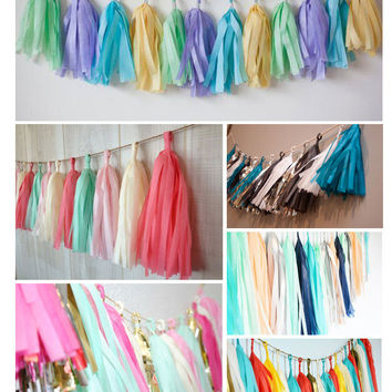 5 PCS Festival Decorative Curtain Garland Wedding Room Celebration Photo Background Hanging Ornament [9431472964]