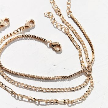 Chain Bracelet Trio Set | Urban Outfitters