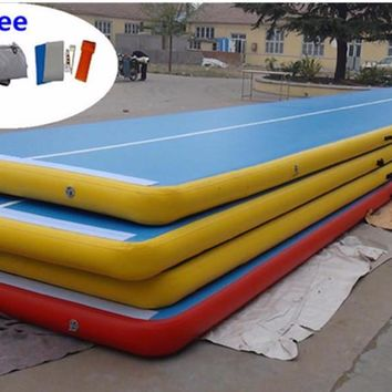 Inflatable Tumbling Mat 20mx2mx20cm