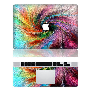 colorful tornado macbook pro cover decals mac pro cover stickers macbook pro decal laptop stickers macbook air cover stickers for pro/air