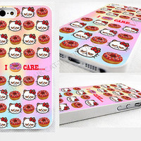 case,cover fits iPhone,samsung models>hello,kitty,doughnut,Emoji,grumpy,cat,care