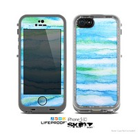 The Abstract Oil Painting Lines Skin for the Apple iPhone 5c LifeProof Case
