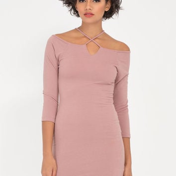 X It Strappy Off-Shoulder Dress GoJane.com