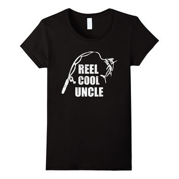 Reel Cool Uncle Vintage Fishing Appreciation Fish T-Shirt