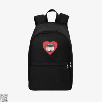 Heart My Slow Cooker, Funny Backpack