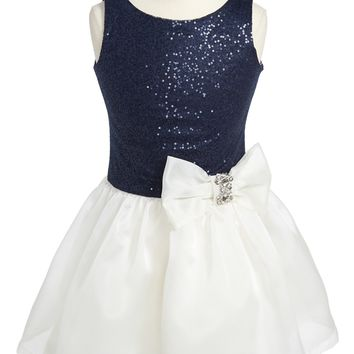 Zoe Ltd Sequin Organza Dress (Big Girls) | Nordstrom