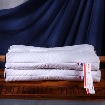 High quality buckwheat pillow core/pure cotton white pillow core/hotel adult pillow core