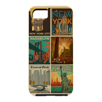Anderson Design Group New York City Multi Image Print Cell Phone Case