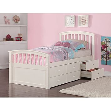 Skyler Storage Bed for Girls