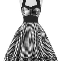 Grace Karin  Retro Cocktail rockabilly dress 50s Swing Pin up Dress Plaid Vintage Dresses Short  Gowns vestidos 6091