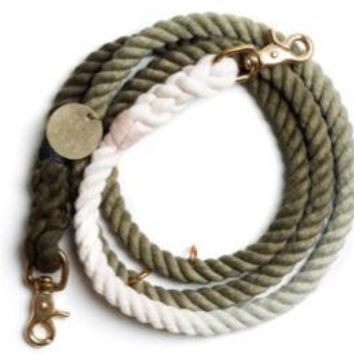 Adjustable Leash Black Olive by Found My Animal at Baysidebuddy.com