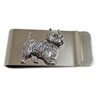 Westie Dog Money Clip