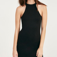 High-Neck Bodycon Dress | Wet Seal