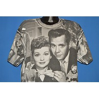 90s I Love Lucy All Over Print t-shirt Extra Large