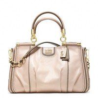 Coach :: New Madison Pinnacle Zig Zag Perforated Carrie