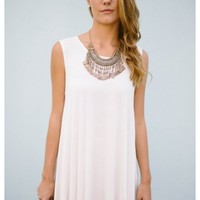 Adalie- Our Adalie white tshirt dress is quite possibly the most com
