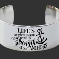 Inspirational Gift | Christian Gift | Faith Gift | Friend Gift | Anchor Jewelry | Korena Loves | KLSM