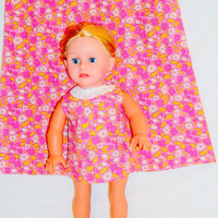 Girls Dress with Matching 18 Inch Doll Dress by vw53 on Etsy