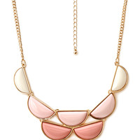 Modern Bib Necklace