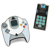 Retro Video Game Collectible Enamel Pin Set Series 3
