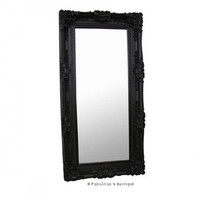 Fabulous & Baroque ? Grand Beau Wall Mirror 6ft x 3ft- Black