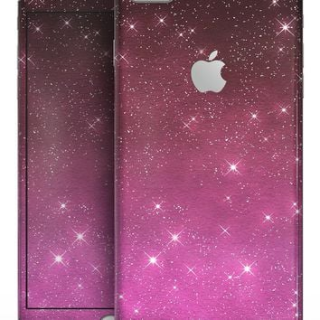 Pink and Burgundy Sparkling Orbs  - Skin-kit for the iPhone 8 or 8 Plus