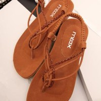 Braided Flat Sandals RC060507