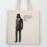 the lord of fashion Tote Bag by Patrick Pascual | Society6