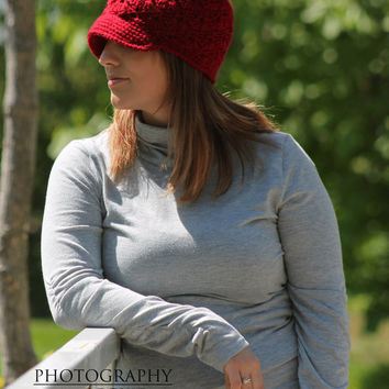 Shelby Cap and Beanie Crochet Pattern