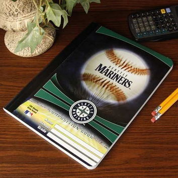 MLB Seattle Mariners Composition Notebook