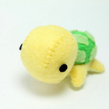 Patterns: Felt Turtle Plush