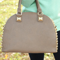 All That Glitters Purse: Mocha