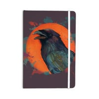 "Lydia Martin ""Raven Sun Alternate"" Orange Purple Everything Notebook"